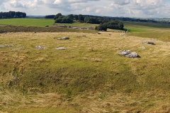 View of Arbor Low stone circle